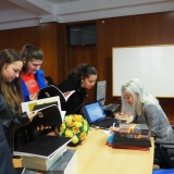 Mais de uma centena de alunos do ensino secundário conheceram a obra da escritora PAT R