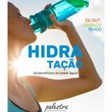 """Alteração de data da palestra """"Hidratação: os benefícios de beber água"""""""