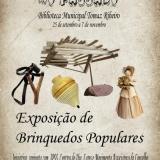 Exposição de Brinquedos Populares Promovida pela Biblioteca Municipal